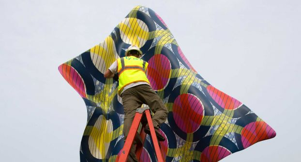 Wind Sculpture IV, Yinka Shonibare MBE