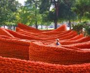 Public Art Monday: Orly Genger's Terra