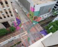 Urban landscape as an art canvas: KHOU covers Art Blocks public art project