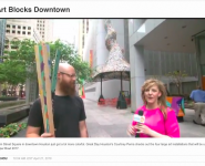 On Great Day Houston: Downtown's Main Street Square is stepping up its art game