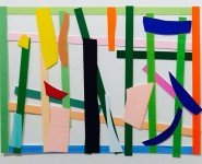 Imi Knoebel: Minimalist artist uses maximum color and knife cuts