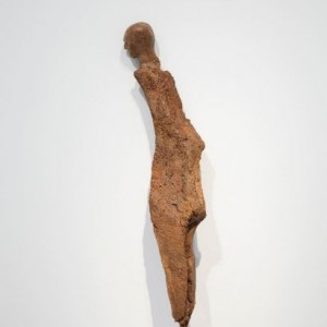 Enrico David, Untitled, 2015, Bronze, 163 x 26.5 x 19.5 cm