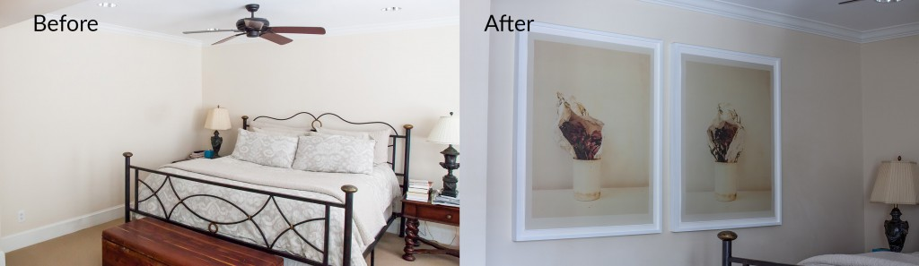 Before - After - Bedroom