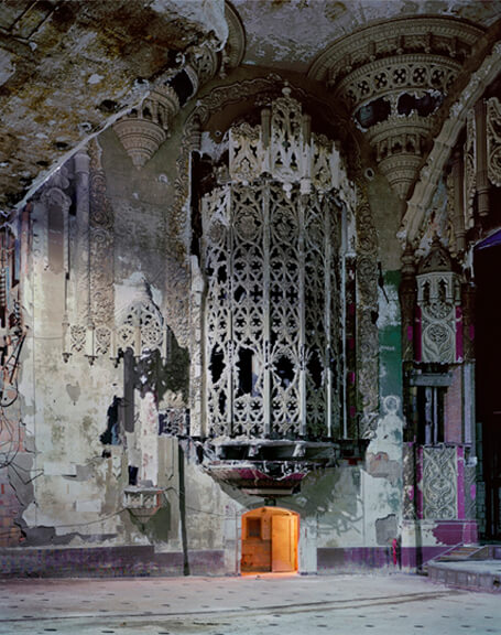 Organ Screen, from the series Detroit by Andrew Moore