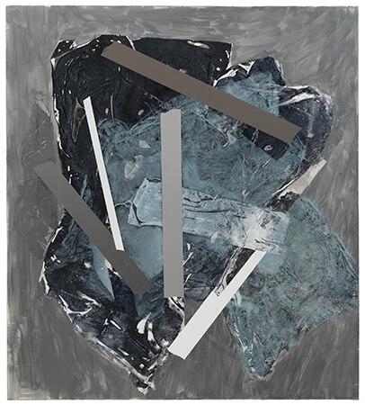 Sigrid Sandström, acrylic on polyester canvas,