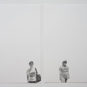 Andrea Bowers, Girlfriends (May Day March, Los Angeles, 2011), 2011