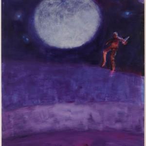 """Katherine Bradford, """"Moon Jumper"""" (2016)"""