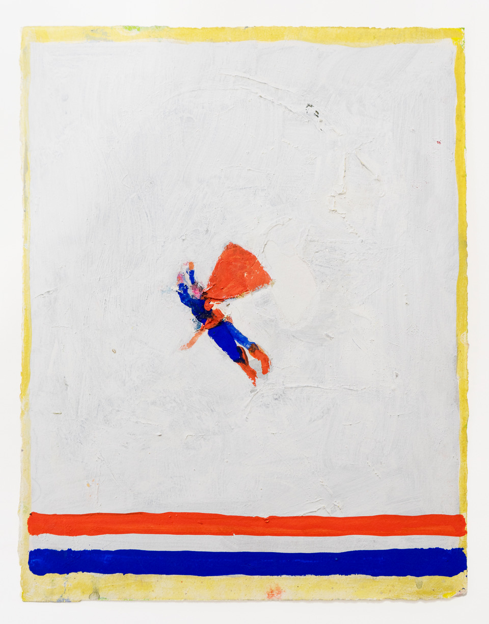"Katherine Bradford, ""Superman USA"" 2015"