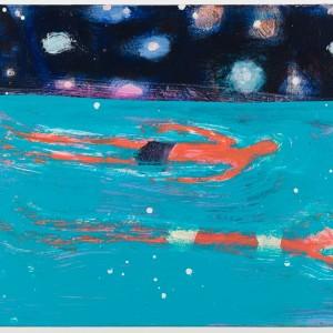 """Katherine Bradford, """"Floaters"""", 2015"""