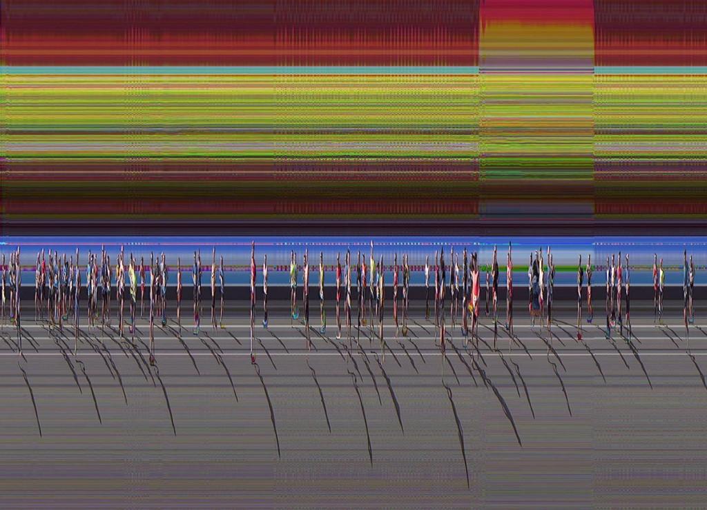 """Berlin Marathon"" From the series ""Transient Landscape"" 2014"