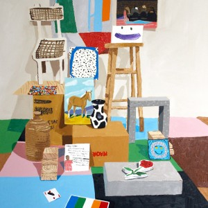 Still-life with Other People's Paintings