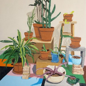 Still-life with Plants