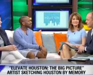 Fox 26: Lea Weingarten interviewed about Elevate Houston with Stephen Wiltshire