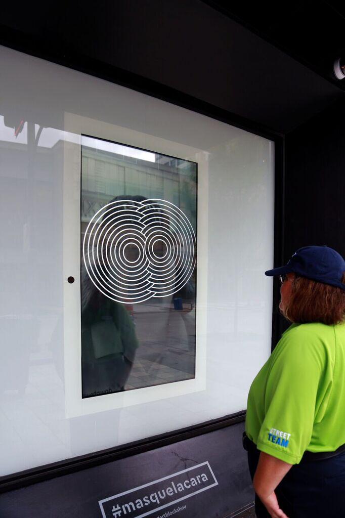 mas que la cara, YesYesNo, Weingarten Art Group, Art Blocks