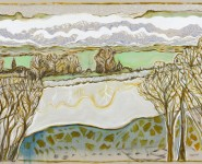 Billy Childish: Contemporary Paintings inspired by Edvard Munch and Peter Doig