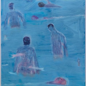 "Katherine Bradford, ""Blue Swimmers"", 2015"