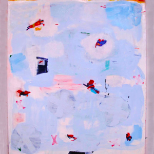 "Katherine Bradford, ""Friendly Skies,"" 2012"
