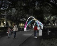 Houston Chronicle on Daily tous les jours: Hello, Trees! turns voices to light and music