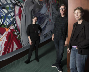 From Houston Chron: Marking the 20th anniversary of Frank Stella's Houston swirls
