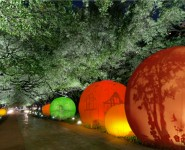 Houston Chronicle: Discovery Green will light up briefly with moonGARDEN