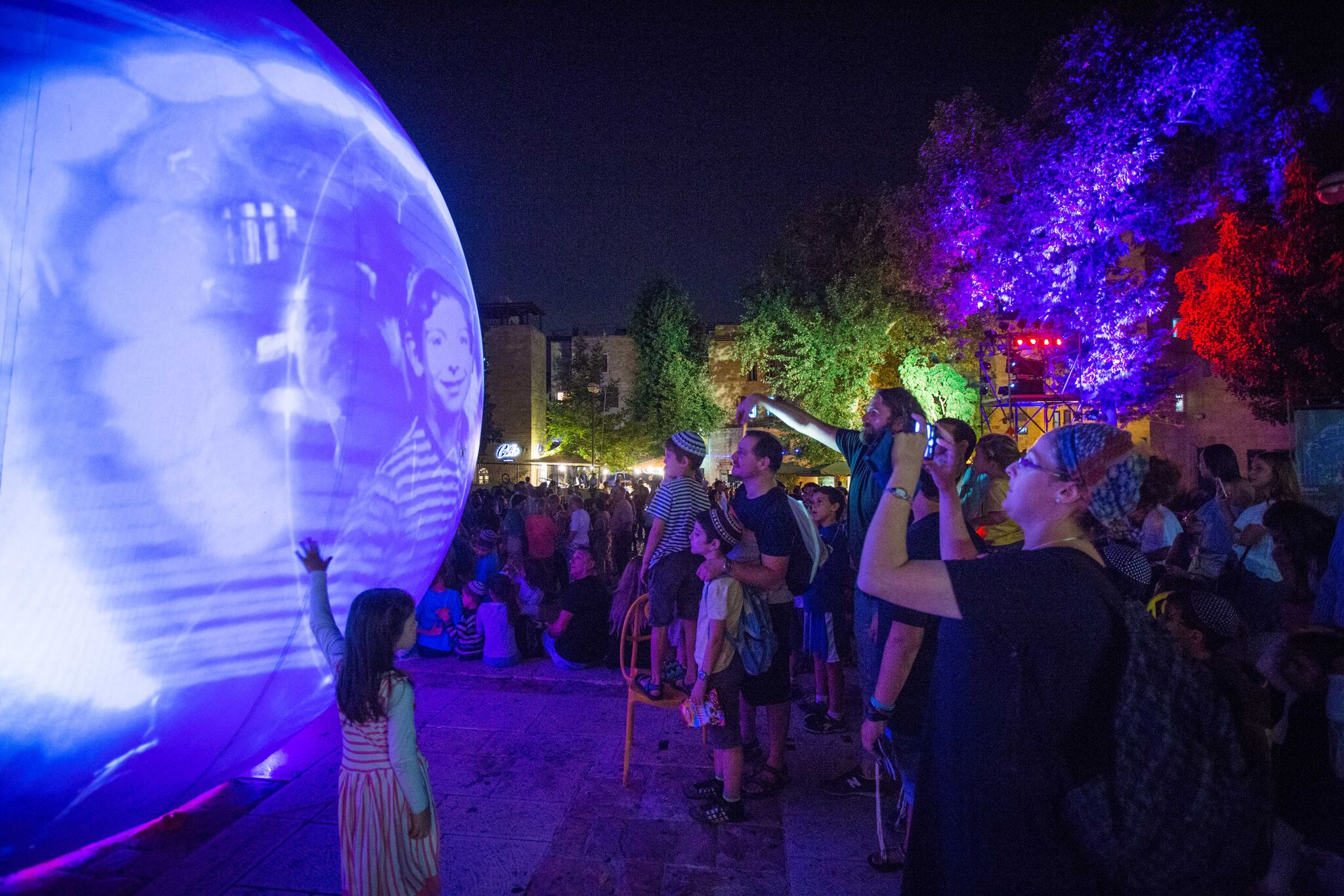 moonGARDEN at Discovery Green by Lucion Media with Weingarten Art Group in Houston Texas