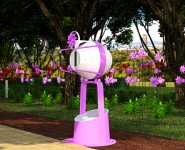 Houston Press: GUST Pinwheels Keep on Turning in Discovery Green